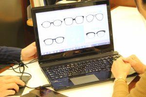 3、メガネフレームのデザイン